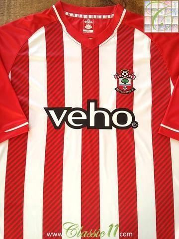 978fae2eca3 Relive Southampton's 2014/2015 season with this original home football shirt .
