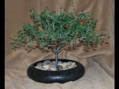 beading4perfectionists tree of life again this time with tire rh pinterest com Bonsai Copper Wire Bonsai Styles