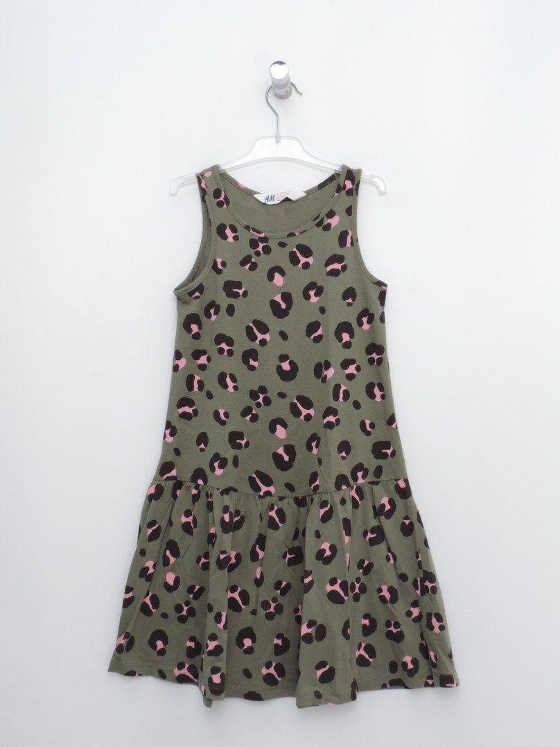 3fb0ee28f Chulísimo vestido de tirantes anchos de la marca H&M para niñas de  entre seis