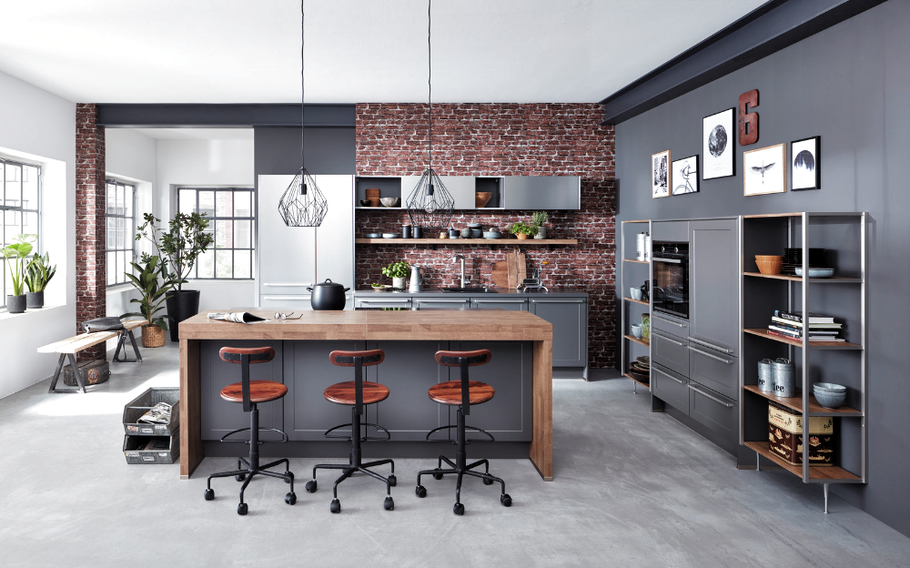 Industrial Style für die Küche   Küche&Co   Haus küchen ...