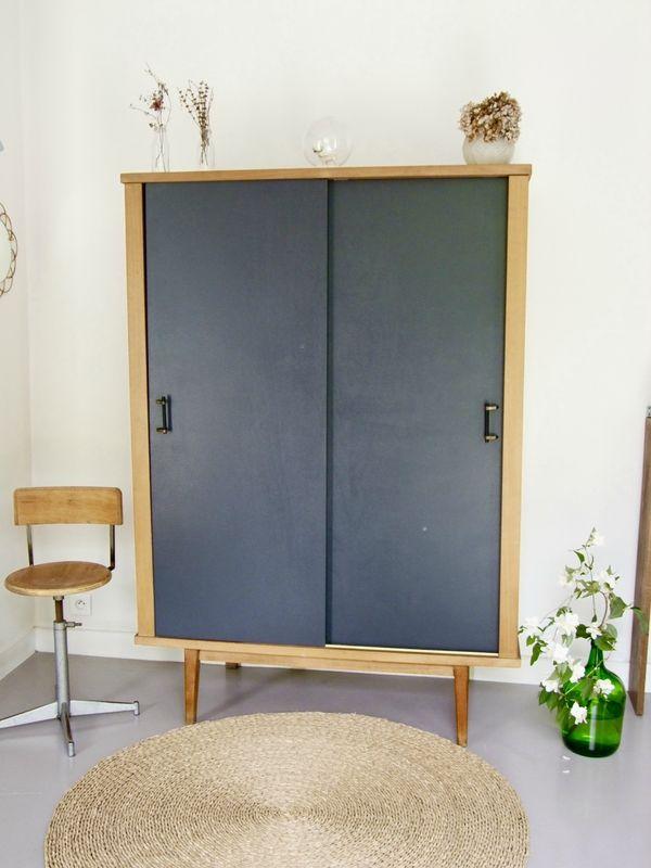 Armoire portes coulissantes Pataluna Pataluna Pinterest - porte d armoire coulissante