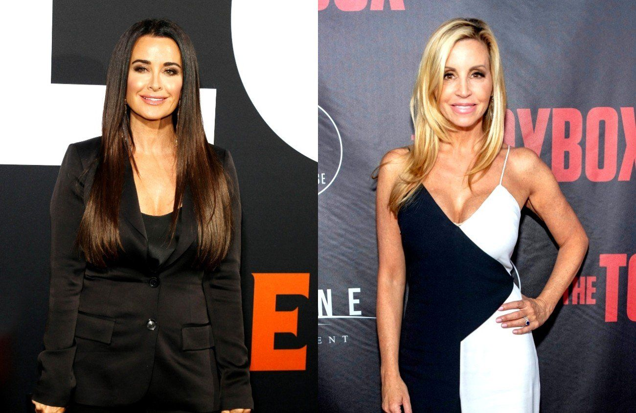 Camille Grammer Disses Kyle Richards Says She Wasn T Asked To