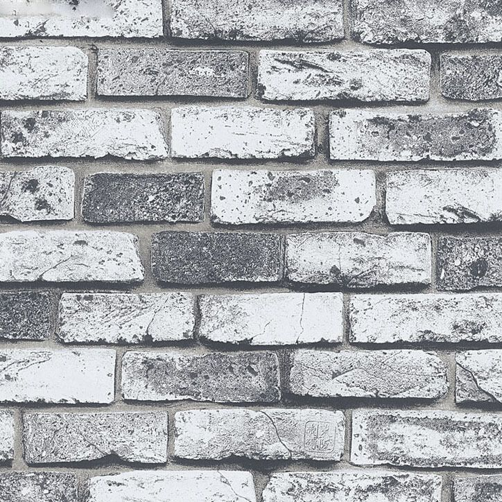 modern super 3d stone wallpaper for pvc grey brick