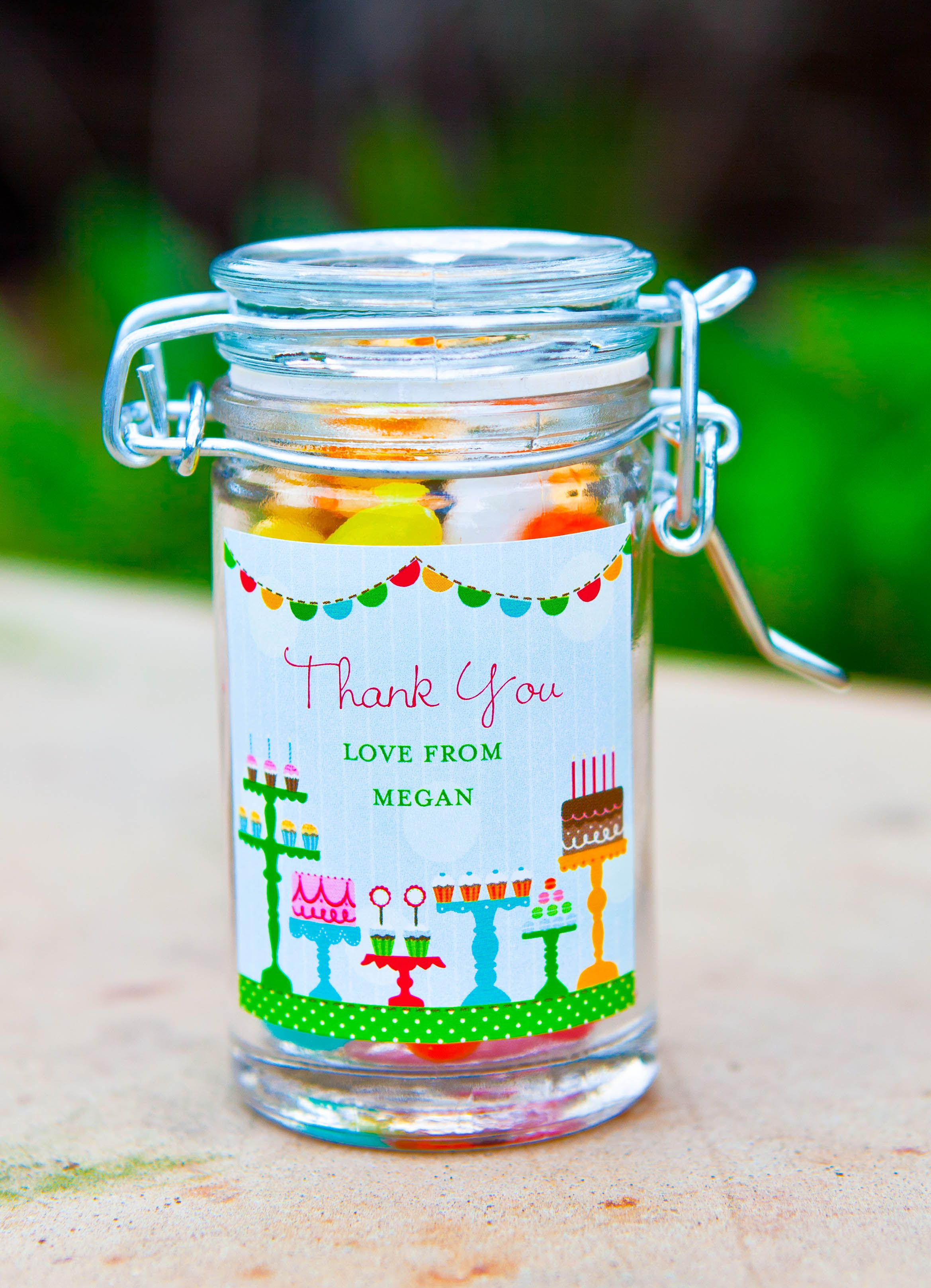 Jelly Bean Party Favor