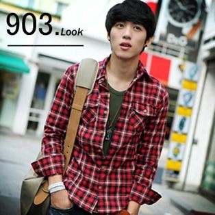 Will your man look good in this hot plaid shirt? Great gift idea at $13.80
