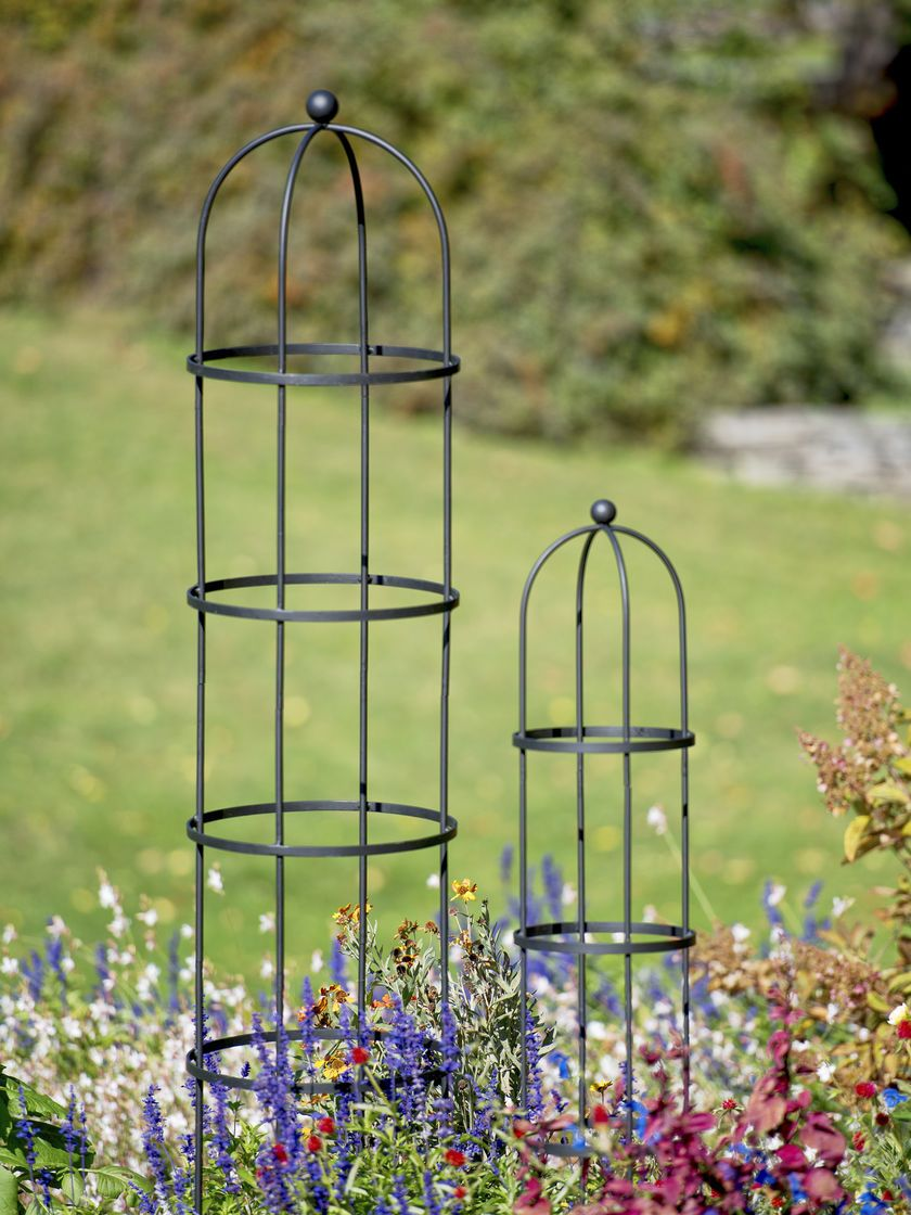 Garden Obelisk: Essex Round Trellis, Free Standing | Gardeners.com