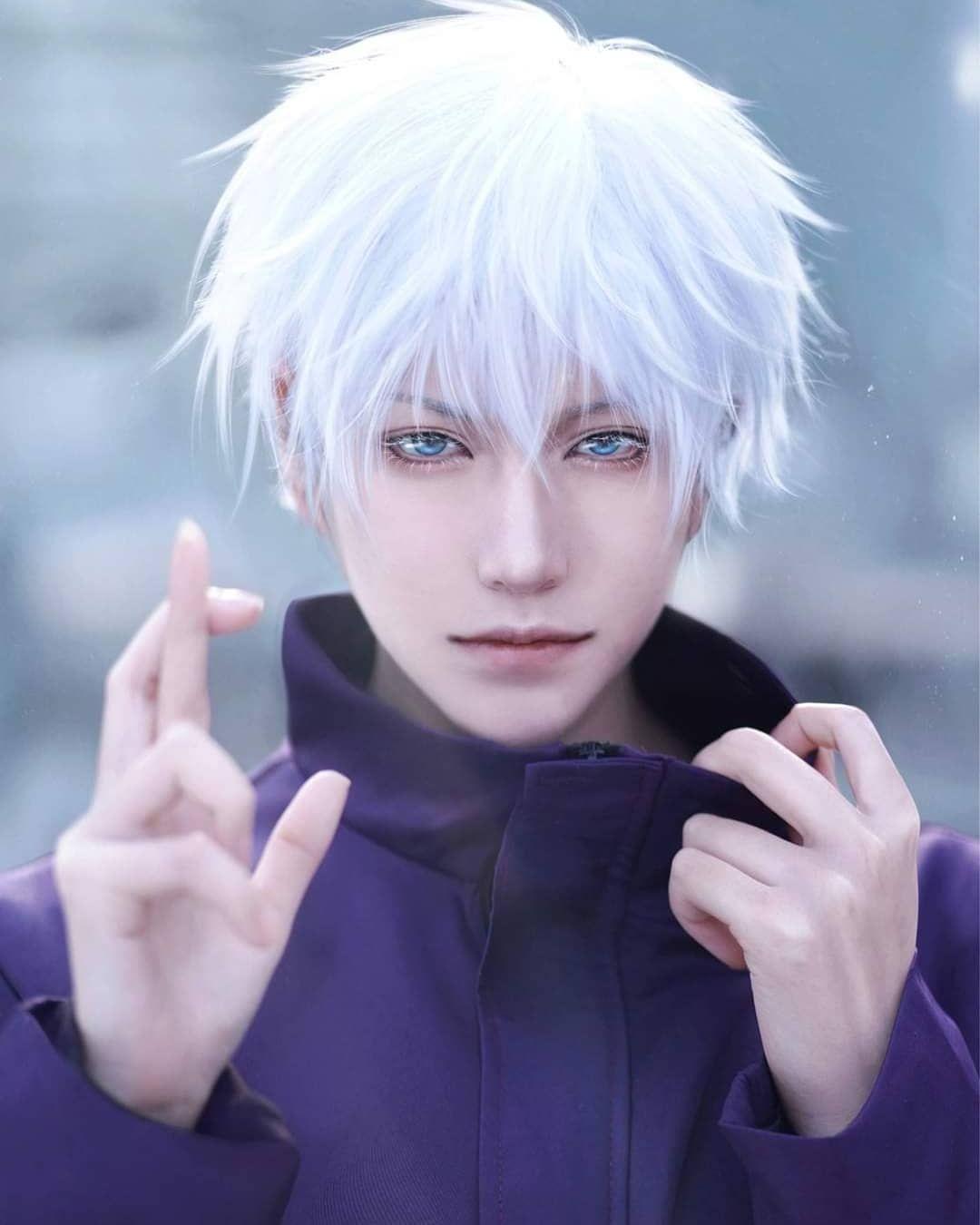 "Photo of lonely ѕтar ☆ on Instagram: ""Anime boy  _________________________  Cosplayer #credits Coser: 陆鹫贰黑    #manga #a3manga #manhua #webtoon  #manhwa  #androgenous #aesthetic…"""
