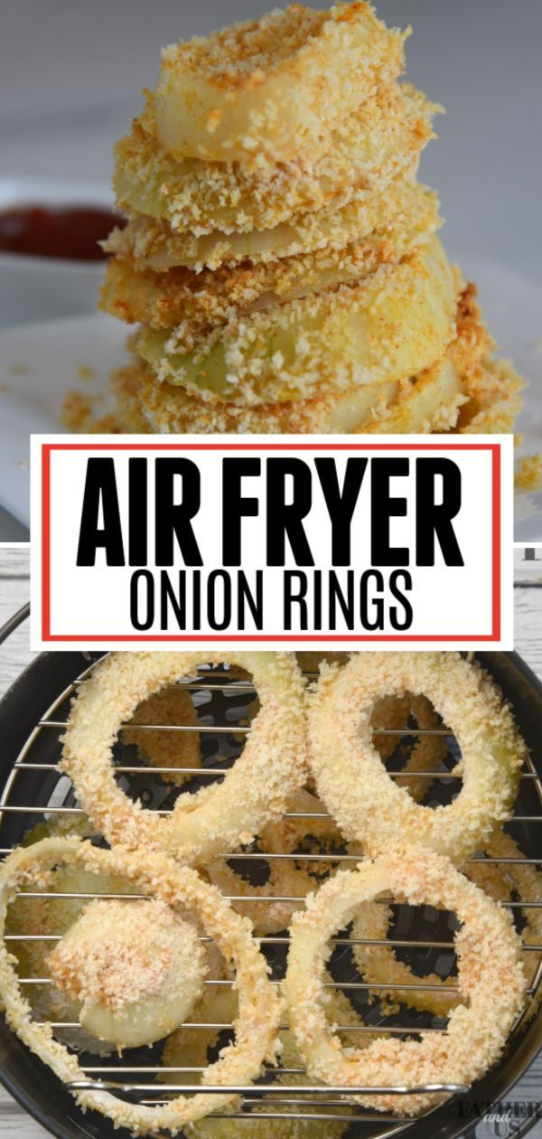 AIR FRYER ONION RINGS in 2020 Onion rings, Recipes, Game