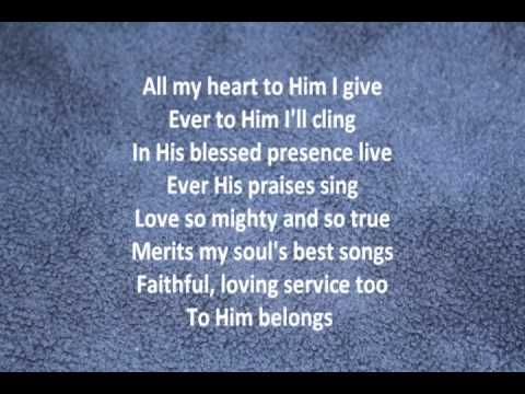 Love Lifted Me Praise Songs Alan Jackson Lyrics