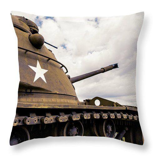 war tank throw pillow, military throw pillow for guys, men and man ...