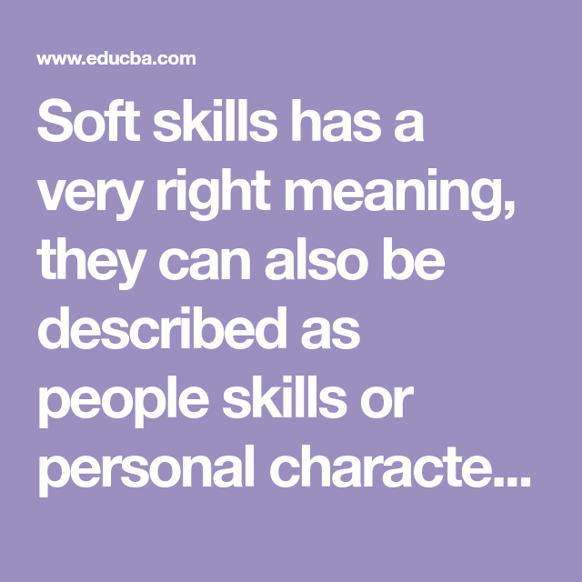 Soft Skills In The Workplace Top Important Soft Skills That You Should Know Soft Skills People Skills Skills