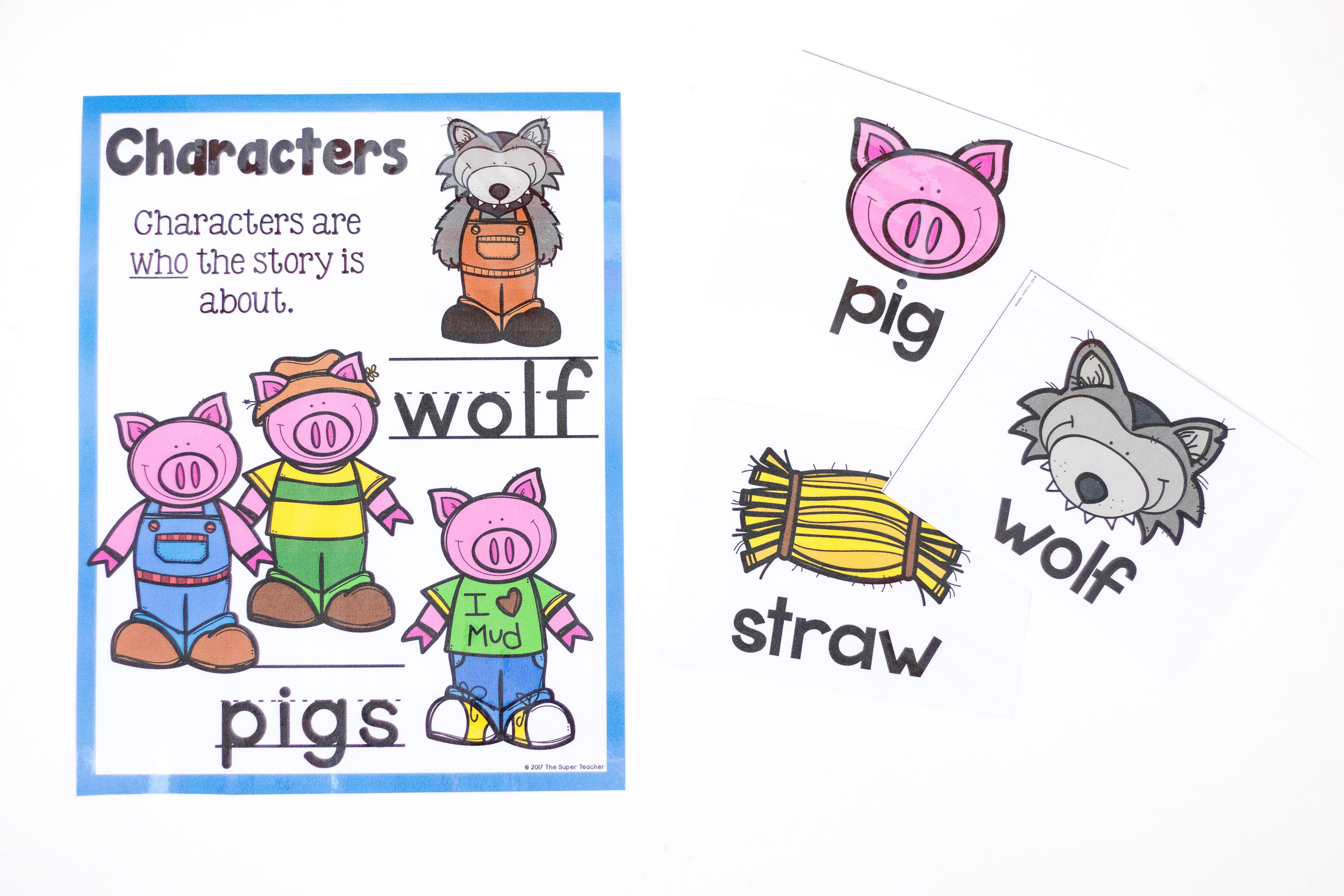 Simple Story Elements Made Practical And Fun Story Elements Kindergarten Reading Preschool Circle Time [ 3963 x 5945 Pixel ]