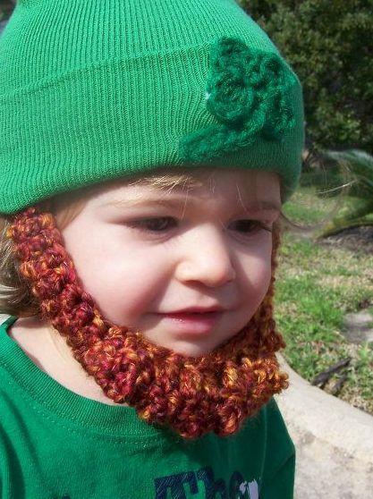 St. Patrick\'s Day Beard Beanie Hat- YES! | Craft Community ...