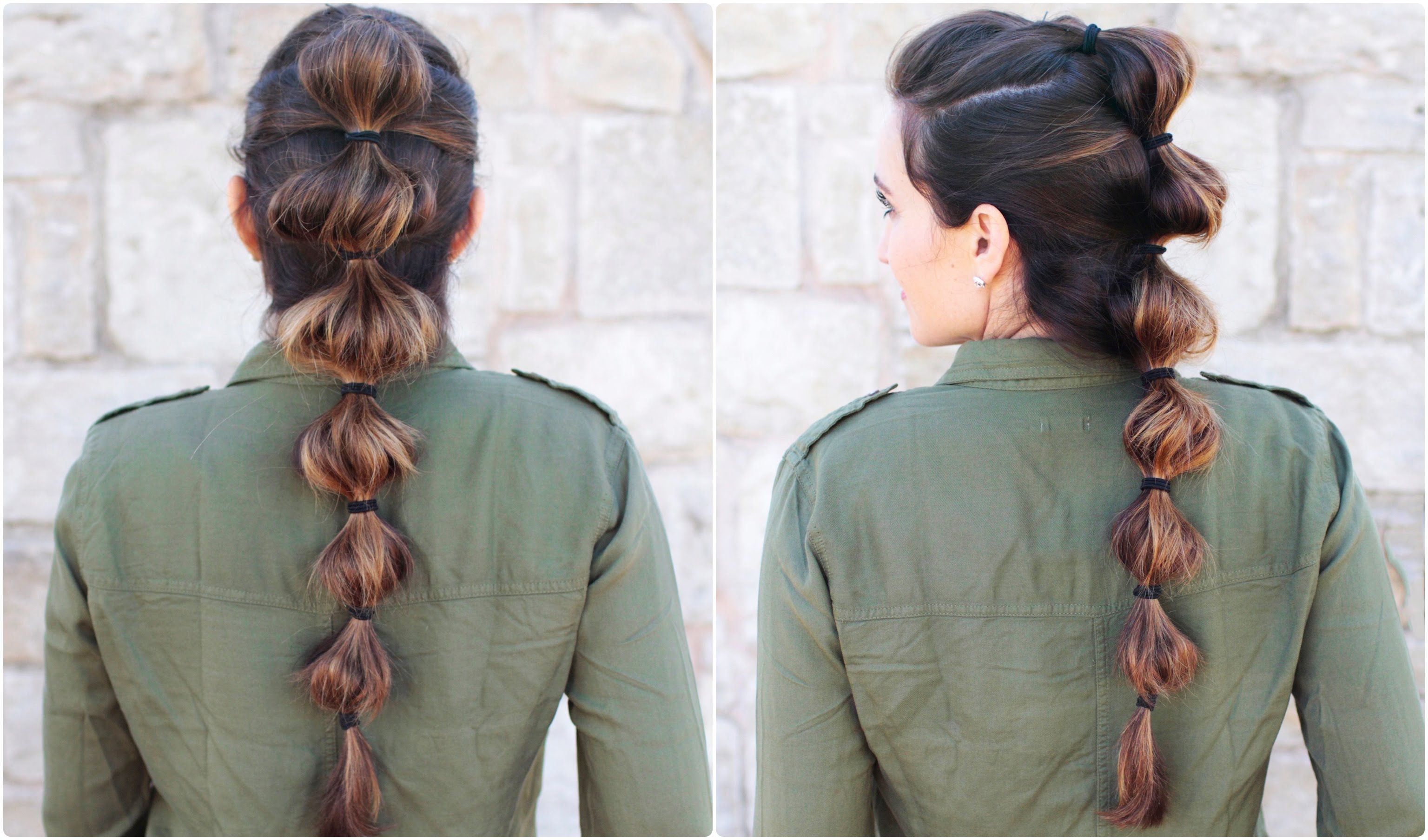 Cute Heart Ponytail Cute Girls Hairstyles