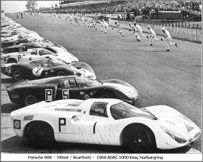 LeMans start at the Nurburgring