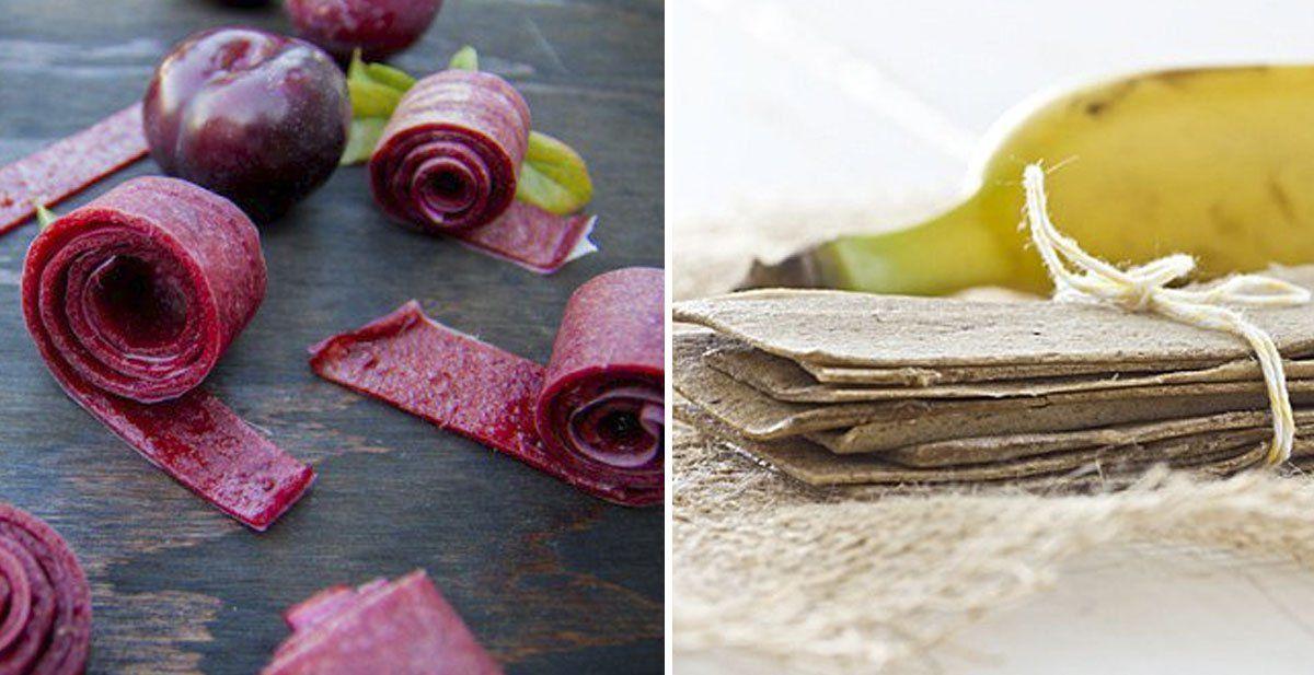 10 chucherías saludables a base de frutas que puedes hacer tú mismo.