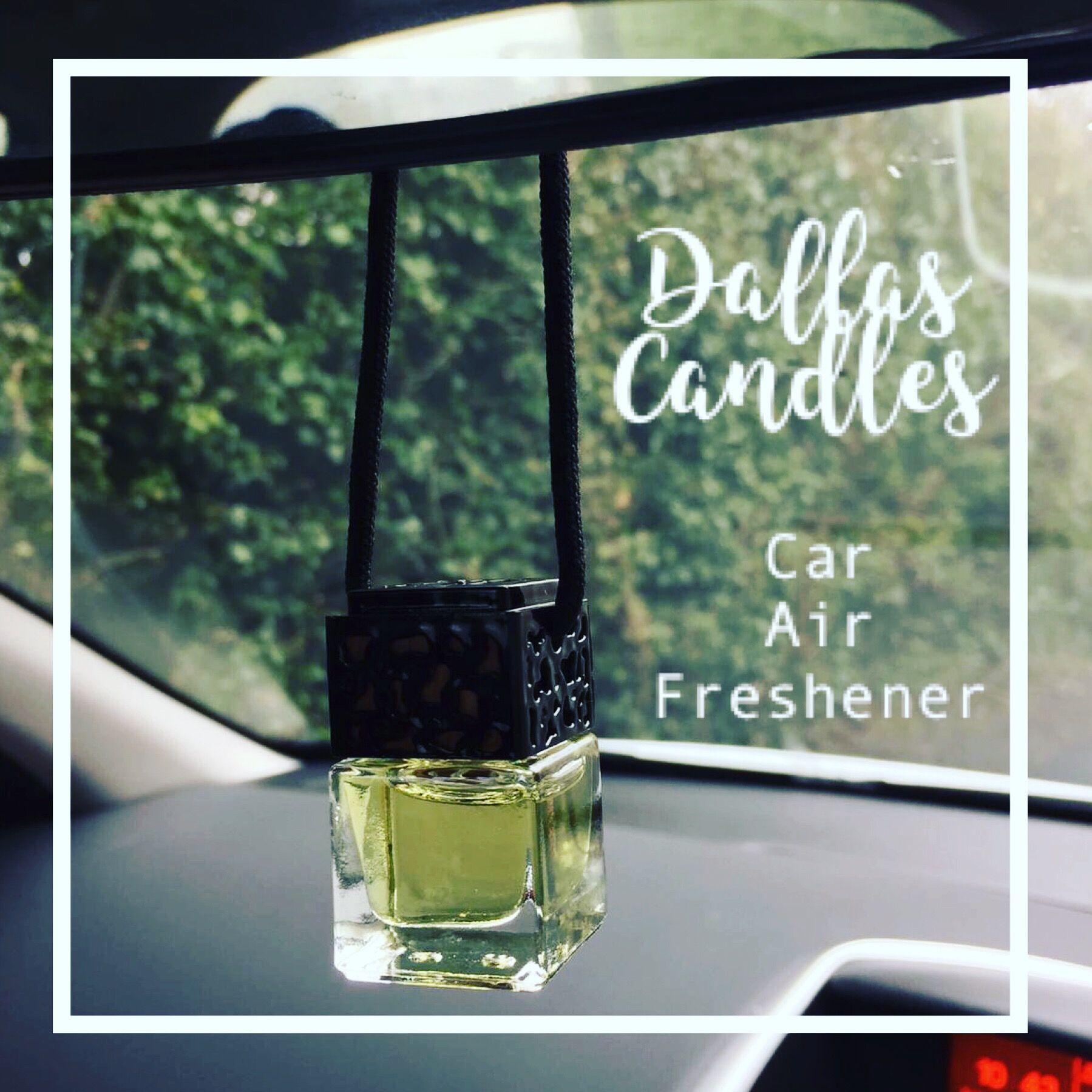 Car Freshener Glass Bottle Perfume