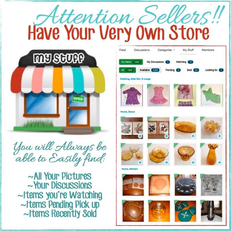 Have your very own store in Varage Sale!! Come join https