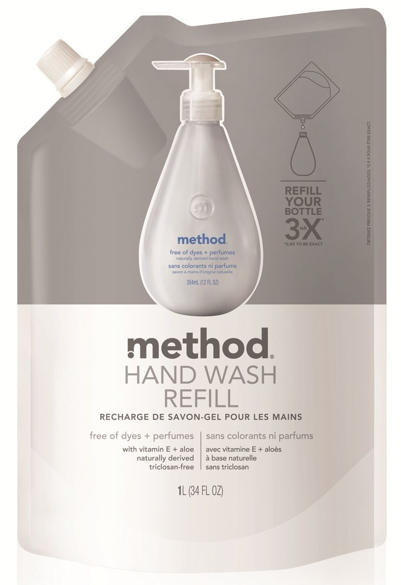 Method Gel Hand Wash Refill Free Of Dyes Perfumes Hand Washing