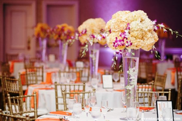 whimsical indian wedding reception by events capture new york