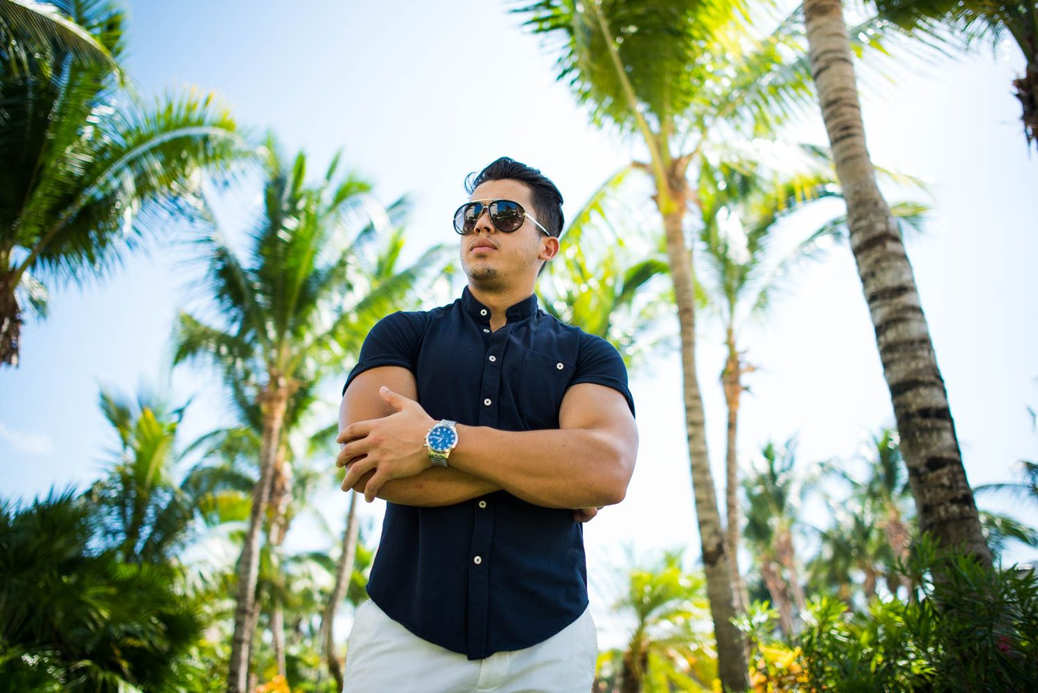 Men's Beach Outfit Idea To a Resort In Cancun, Mexico | Royal Fashionist
