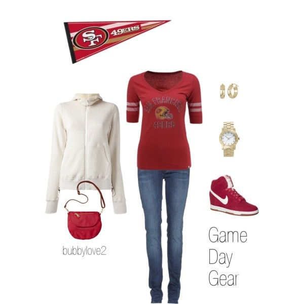 39b99e0b 49er Game Day Gear | Ball | 49ers outfit, 49ers fans, Sports baby