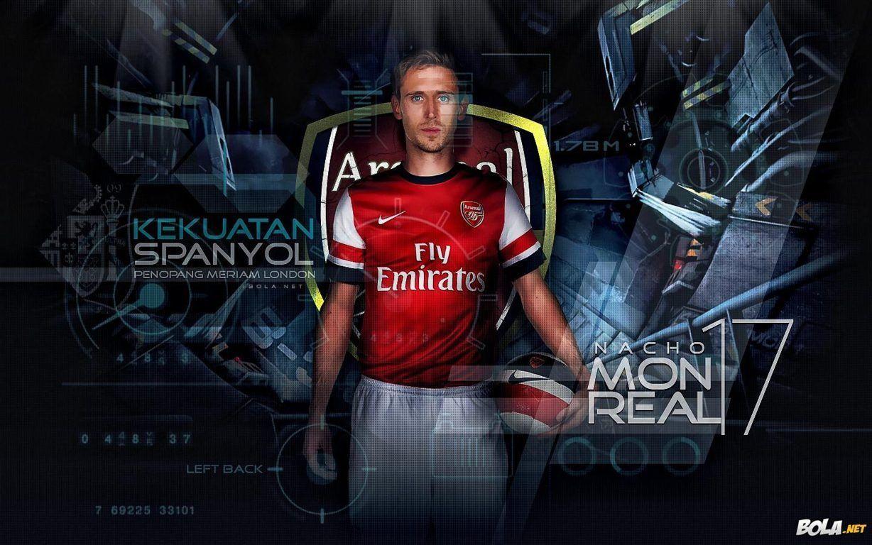 Nacho Monreal Arsenal Wallpaper HD 2013