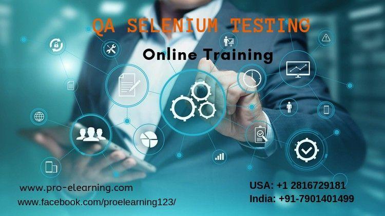 QA Selenium Testing Online Training in 2020 Online