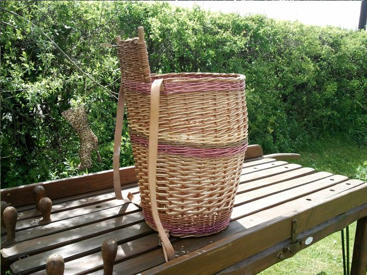 willow basket weaving instructions