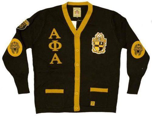 New Mens Black Alpha Phi Alpha Button Up Thowback 50s Style