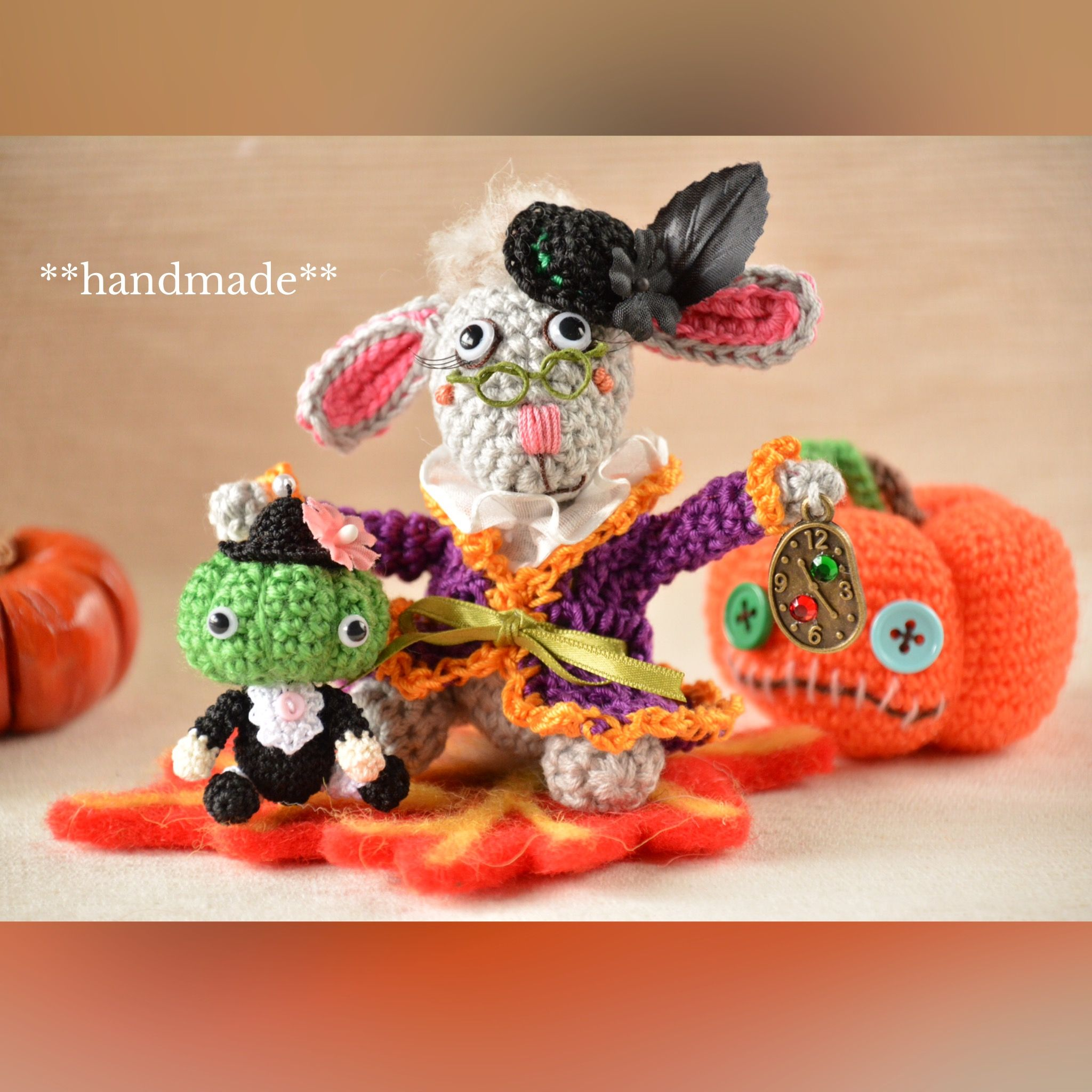Pin by Grandma Wright on Halloween Pinterest Crochet fall - fall and halloween decorations
