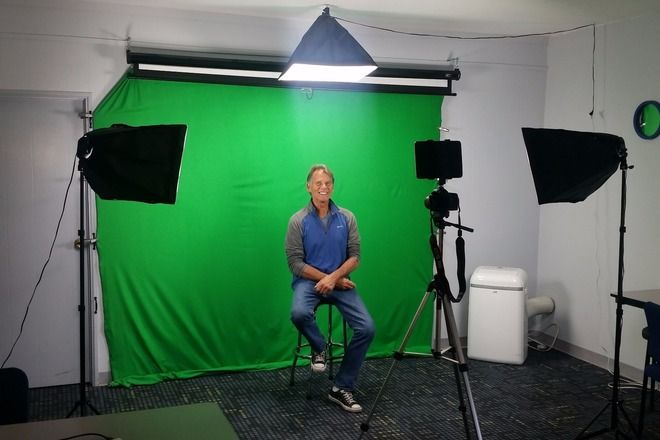 Green Screen Photography Studio