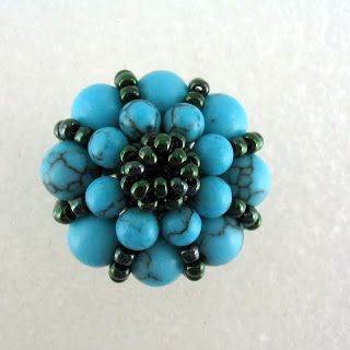 Beaded Sultan Bead Tutorial -  (click to Part 1 to start project)   #Seed #Bead #Tutorials