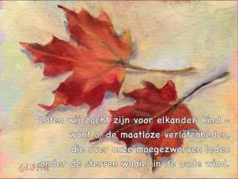 A Roland Holst Gedicht Zwerversliefde Gedichten