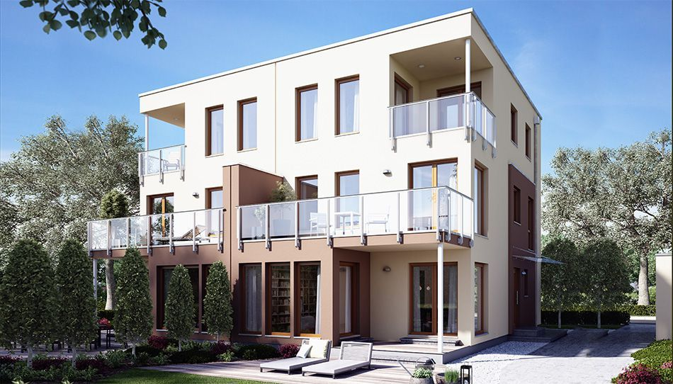 Unser SOLUTION 126XL V6. Haus Fertighaus Hausbau