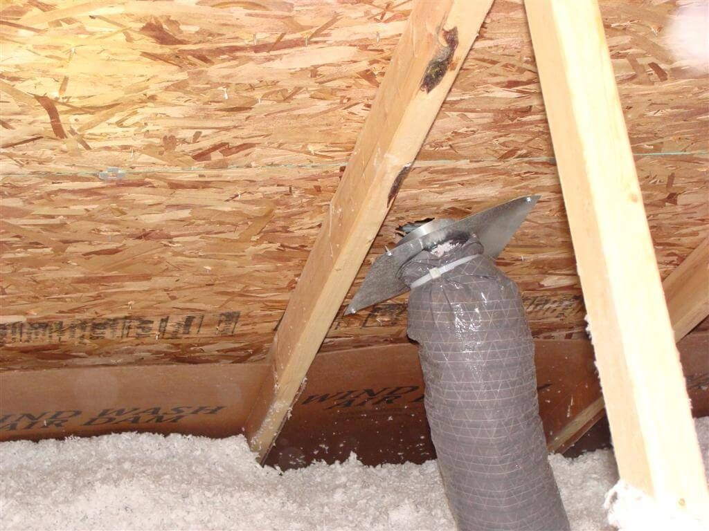 Venting Bathroom Fan Through Existing Roof Vent Http - Bathroom exhaust through roof for bathroom decor ideas