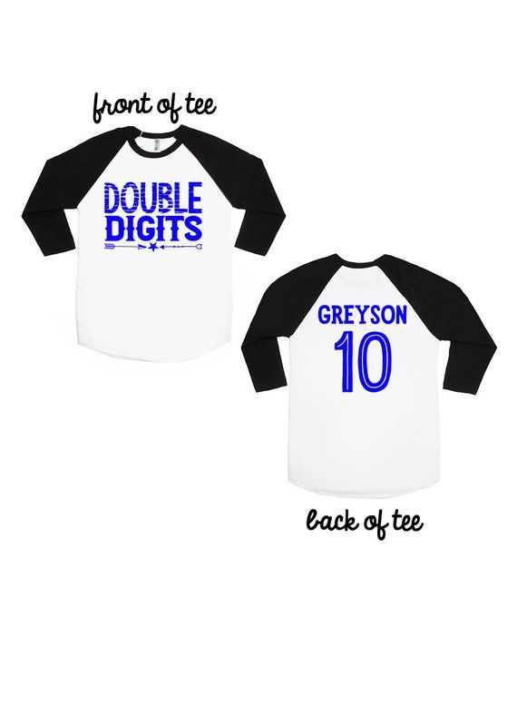 Double Digits Tee