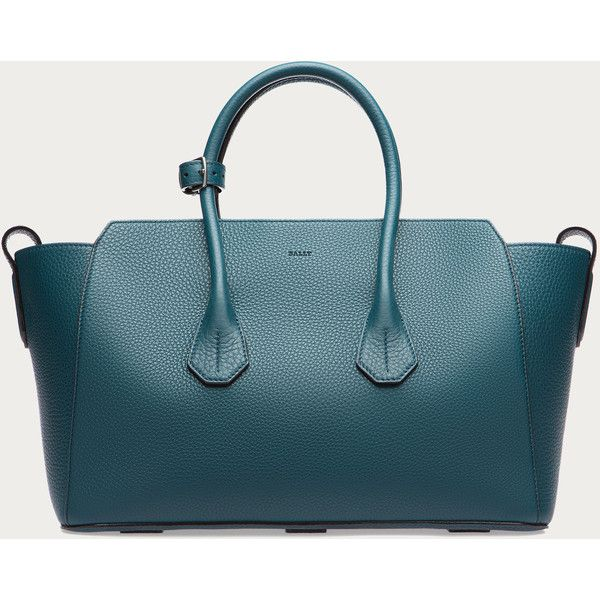 bdf7e8981c Bally SOMMET MEDIUM Women´s medium leather tote bag in Teal Women´s...  ( 1