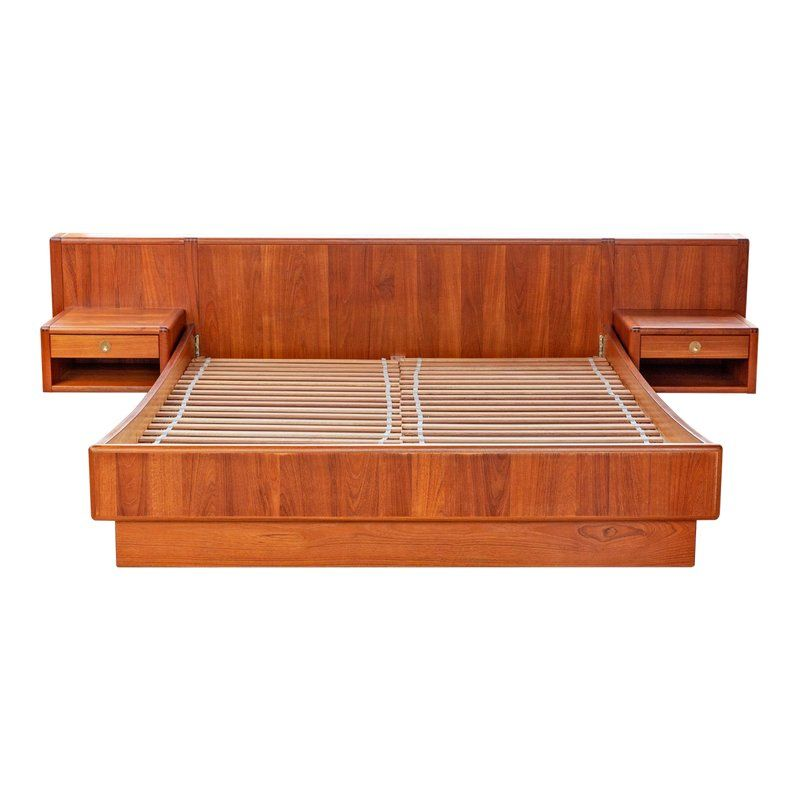sports shoes 5da3c 77ca1 D-Scan Danish Modern Cal-King Platform Bed | Products in ...