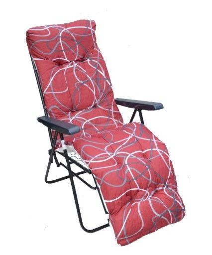Fotel Lezak Ogrodowy Z Podnozkiem Promocja 6882337792 Oficjalne Archiwum Allegro Home Decor Chair Furniture