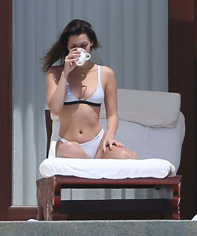 Bella Hadid In Bikini On Vacation In Cabo San Lucas