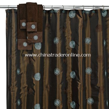 Brown And Blue Shower Curtains