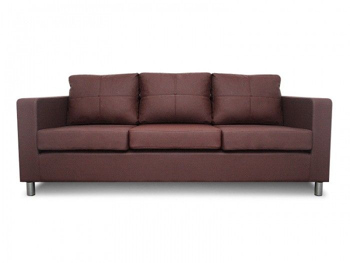 Goedkope Bankstellen 2 En 3 Zits.Milano 3 Banken Modern Leather Sofa Luxury Sofa Retro Sofa
