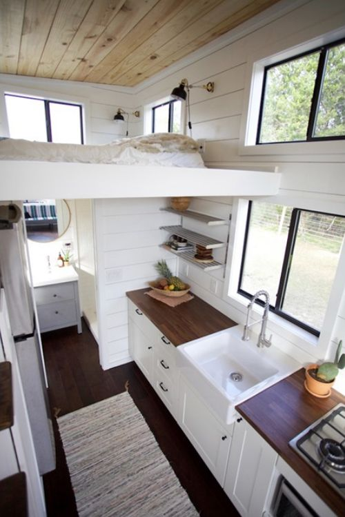 Texas Hill Country by Nomad Tiny Homes   White shiplap, Birch and ...