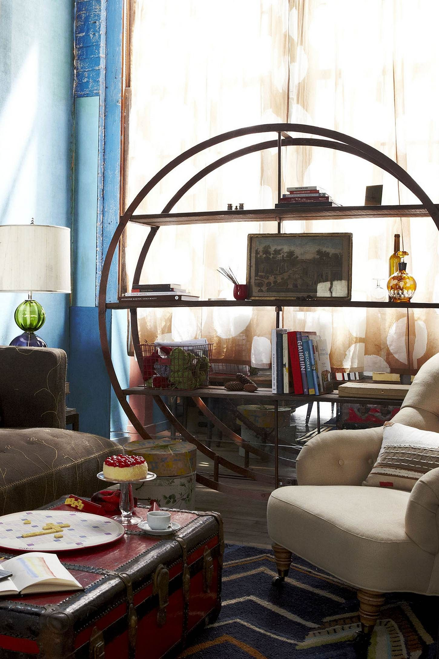 product do thumb bookcases world circle bookcase round market img