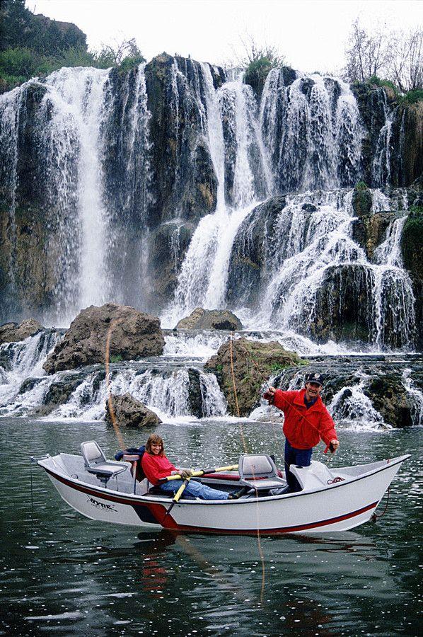 Fly fishing below fall creek falls on the snake river in for Snake river fly fishing