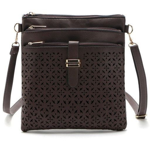 40a45ce3c4b5 2017 Fashion Small Bag Women Messenger Bags Soft PU Leather Hollow Out Crossbody  Bag For Women Clutches Bolsas Femininas Bolsa