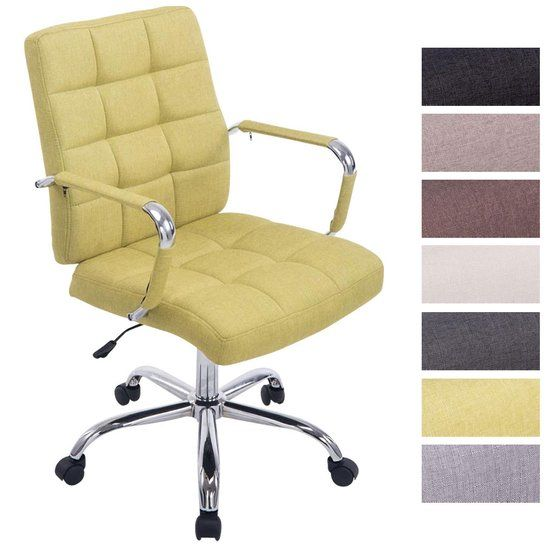 Bürostuhl Deli PRO Stoff Chefsessel Drehstuhl Schreibtischstuhl gepolstert