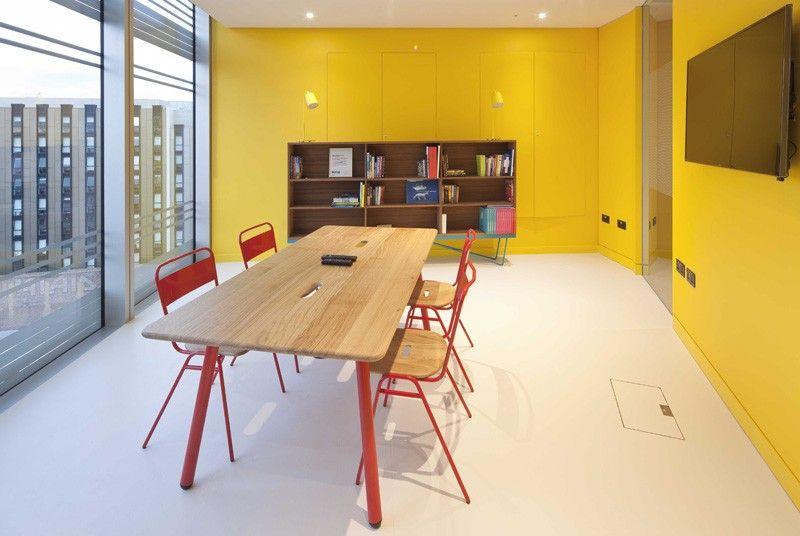 modern office interior design uktv. UKTV Worked Together With Architecture Firm PENSON To Create Their New Headquarters In London / Office Modern Interior Design Uktv 0