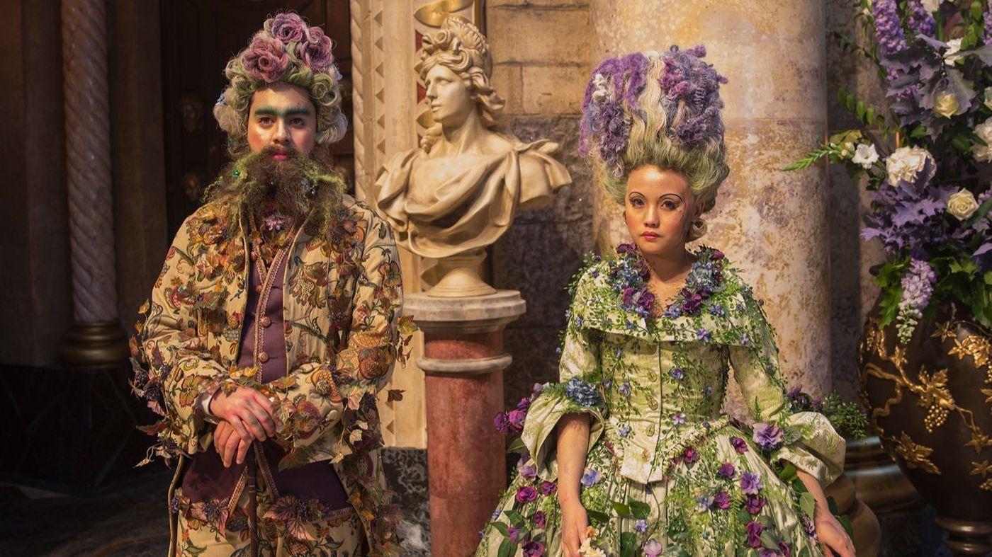 A World Of Fantastical Costumes Fills Disney S New Take On The Nutcracker Disney Nutcracker Nutcracker Disney Live Action Movies